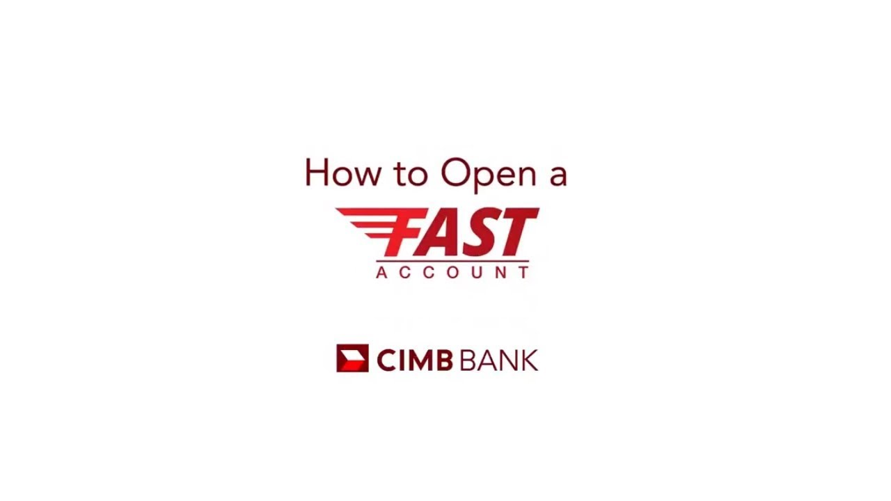 How to open a Fast Account in just 10 minutes
